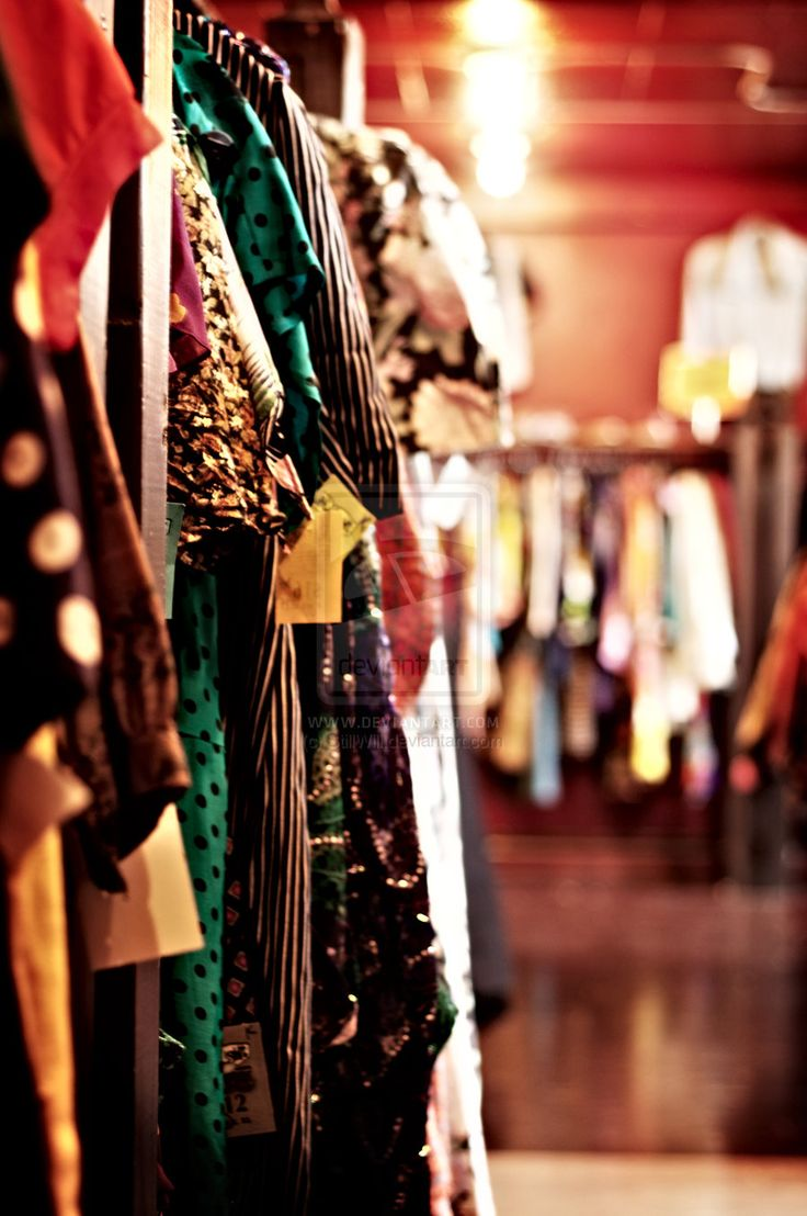 50 Vintage clothing stores around Portland - for our april road trip!