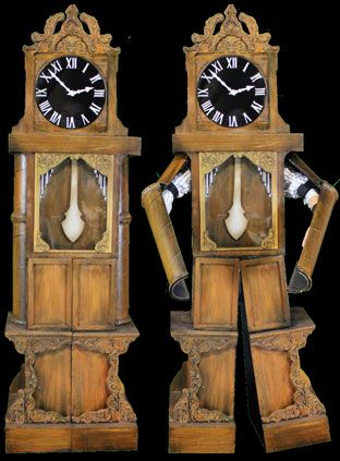 Grandfather clock costume