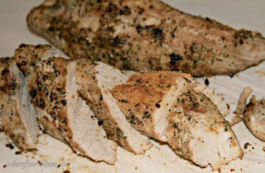 Oven-baked Pork Tenderloin - Serves 4 to 5