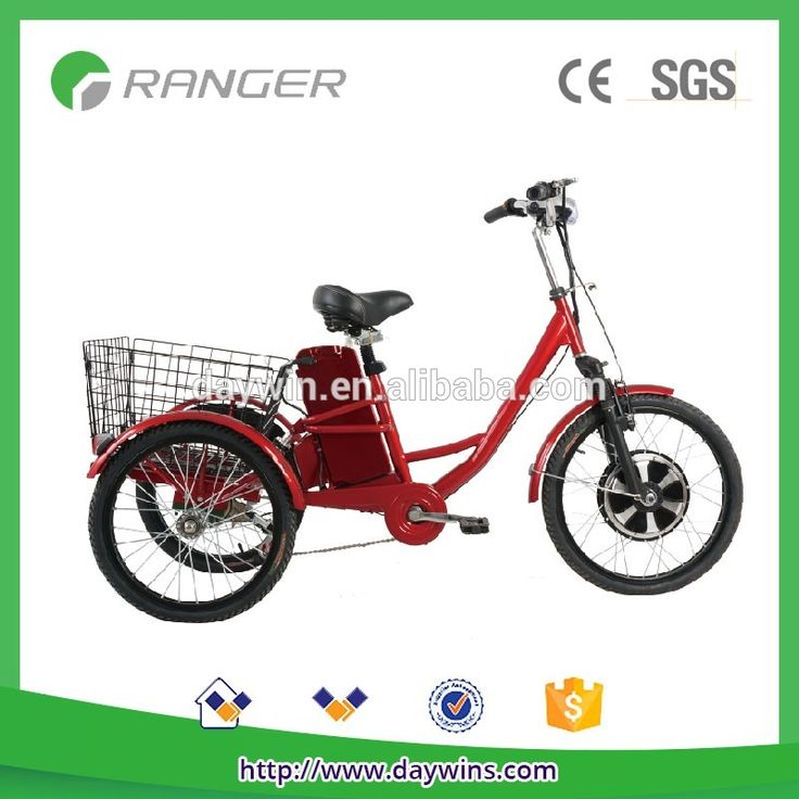 Adult 3 wheel electric bicycle for sale #bicycles, #Storage