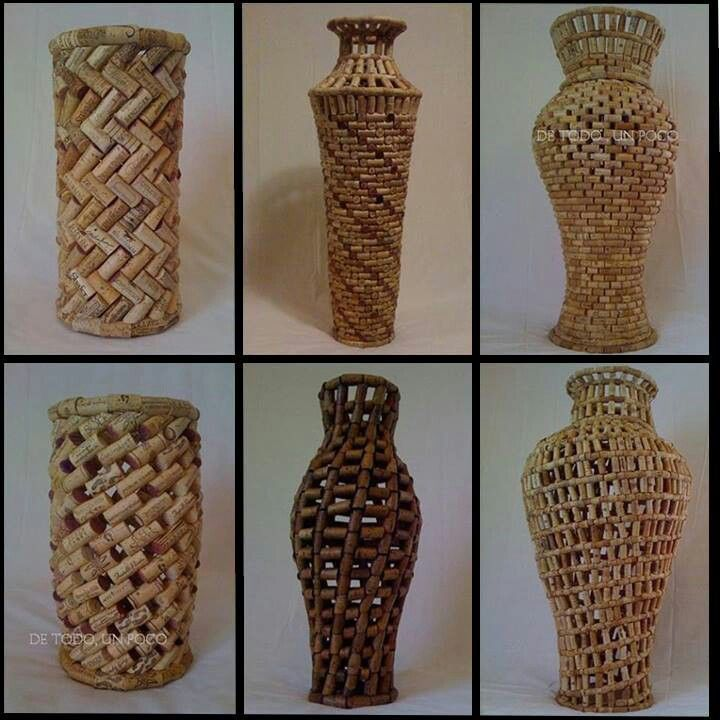wine cork craft ideas | Made from old wine corks | Craft Ideas                                                                                                                                                                                 More