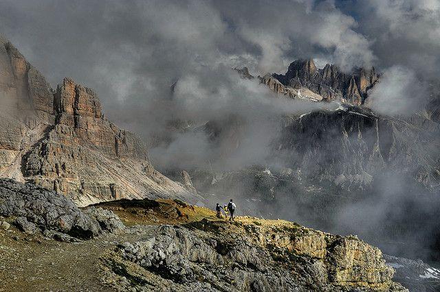 allsenseslvr:    Hiking in the Dolomites - Cortina D'ampezzo Italy