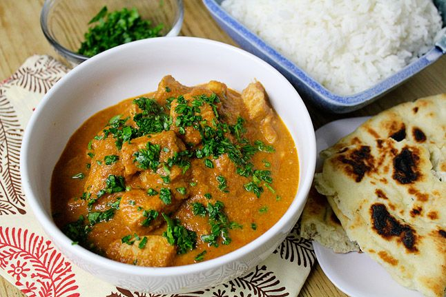 Butter Chicken (Murgh makhani) by Malcolm, fromaway.com as adapted a recipe on