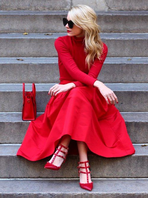 Red Means Perfect red dresses glamour featured fashion dresses