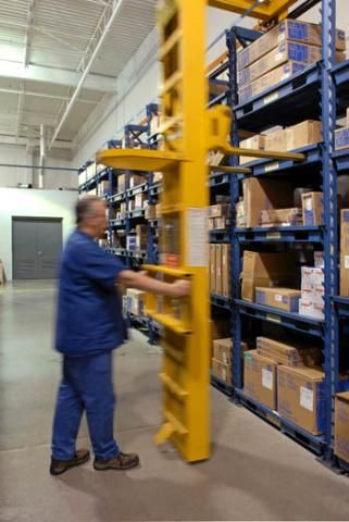The Vidmar STAK System Provides Optimal Vertical Storage By Conveniently  Storing Heavy Equipment And Bulk Items