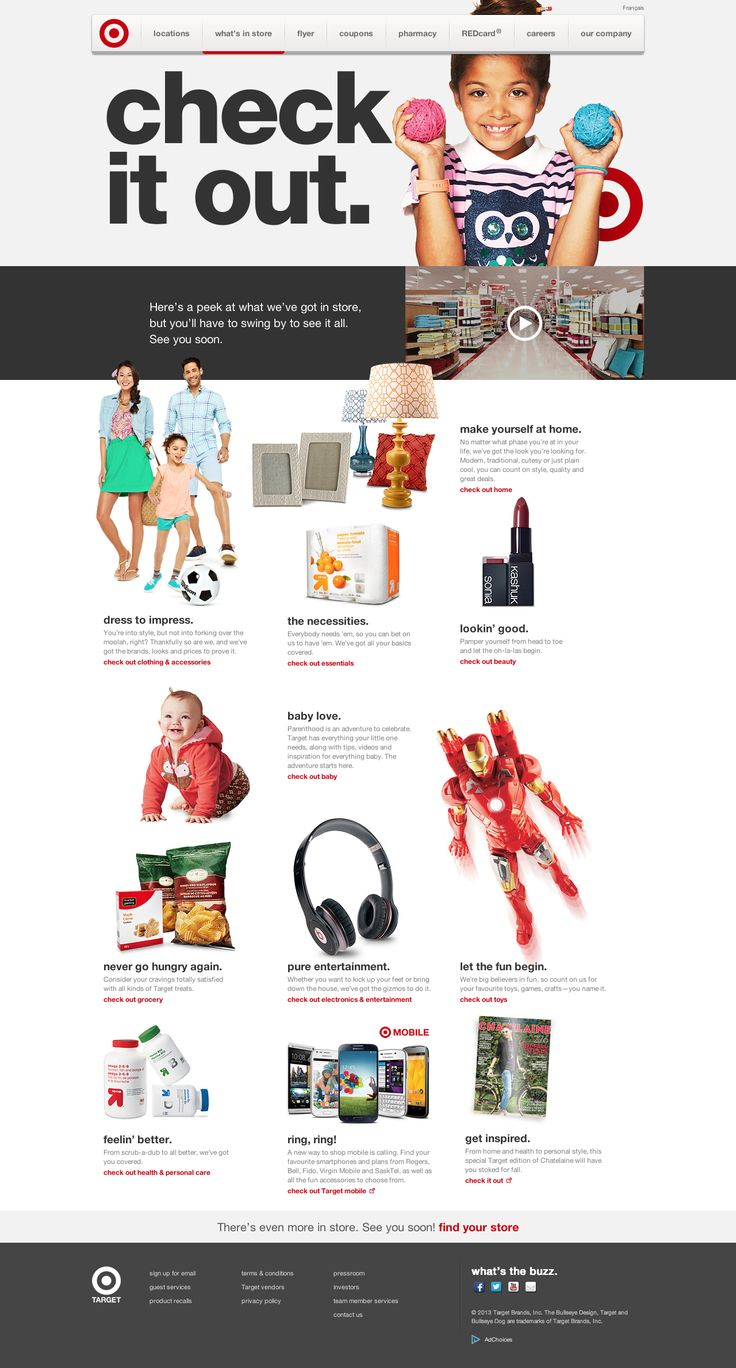 Target.ca | Target Canada Website Homepage #website #design #ecommerce #brand