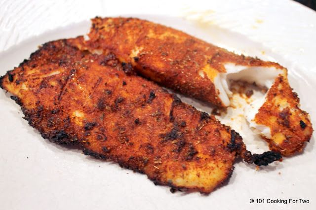 The Best Grilled Blackened Tilapia from 101 Cooking For Two