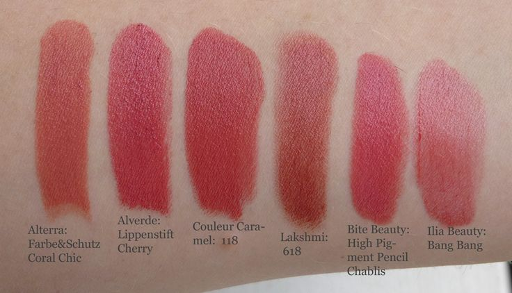 Slikovni rezultat za couleur caramel lipstick swatches ...