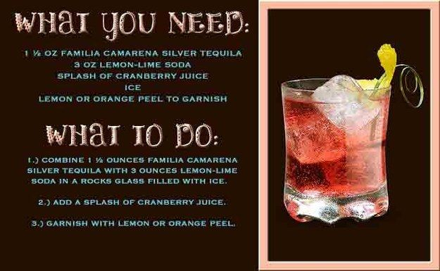 Camarena Red Splash   11 Insanely Delicious Tequila Drinks You Need This Cinco De Mayo