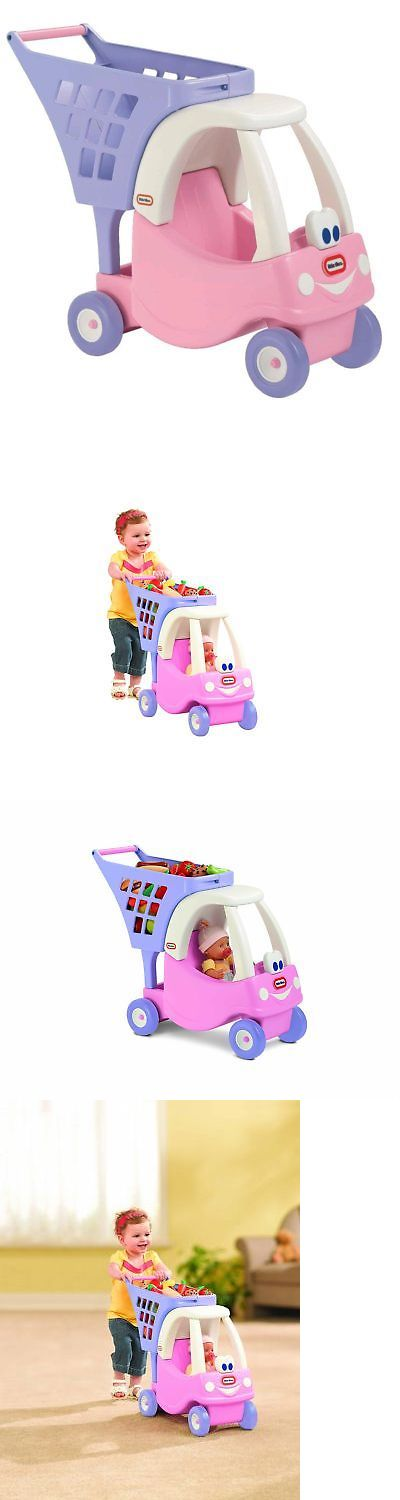 Child Size 2574: Little Tikes Cozy Shopping Cart Pink Purple, New, Free Shipping -> BUY IT NOW ONLY: $36.17 on eBay!