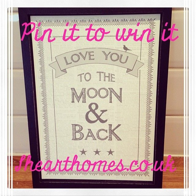 Visit www.ihearthomes.co.uk for details of how to enter & win!!! x