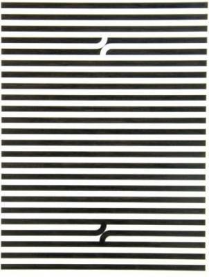 Les lignes sont toutes placées à la même distance et ont toutes la mêmes largeur et longueur.