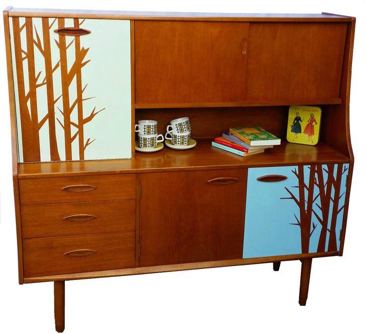 Upcycled retro sideboard, vintage, mid century, scandinavian, teak, g plan  in - Top 25+ Best Retro Sideboard Ideas On Pinterest Mid Century