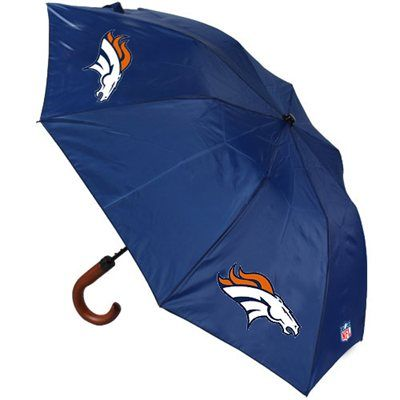 Denver Broncos Game Day Umbrella - Navy Blue