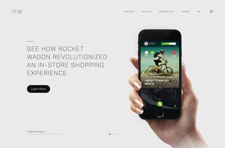 Rockwagon Homepage by Ramble Ren