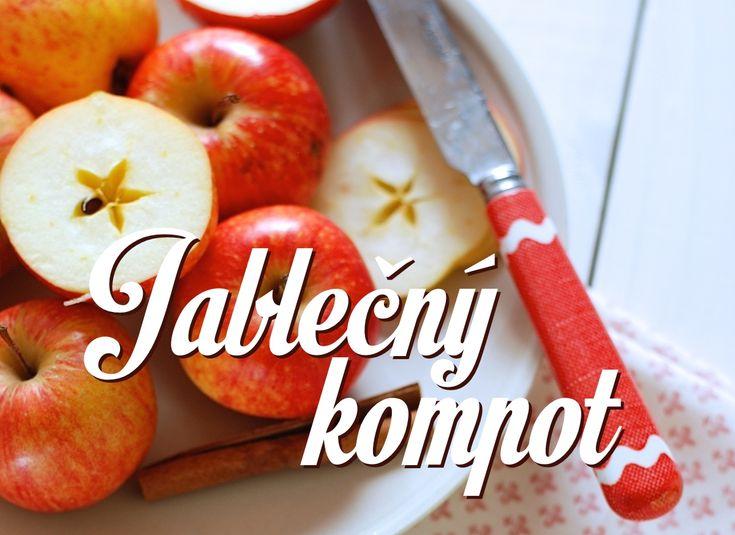 Jablečný kompot, který má opravdu výraznou chuť