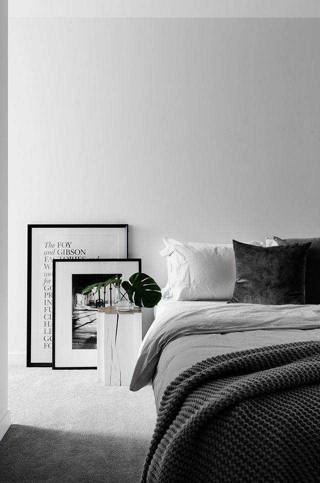 Best 25 White Grey Bedrooms Ideas On Pinterest