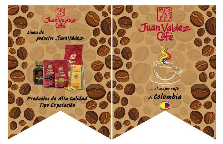 Banderín. Cliente: Juan Valdez Café