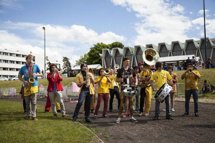 Centrale Paris brass band