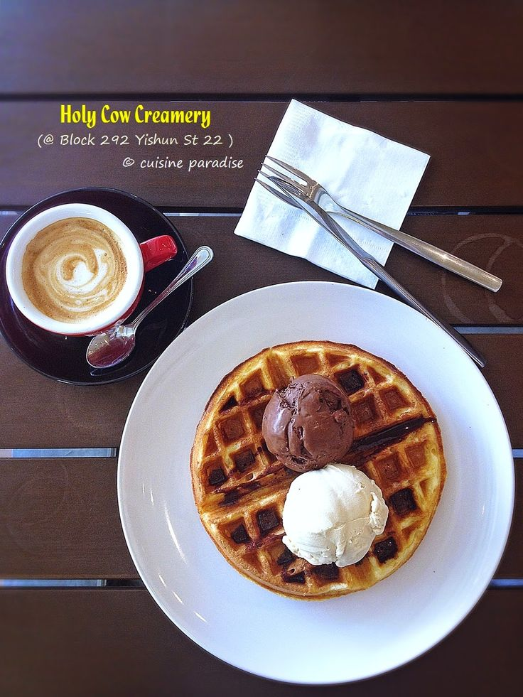 Cuisine Paradise | Singapore Food Blog | Recipes, Reviews And Travel: [New Cafes in Yishun & Sembawang] Holy Cow Creamery, Mootime, RoyceMary Cafe and The Daily Scoop
