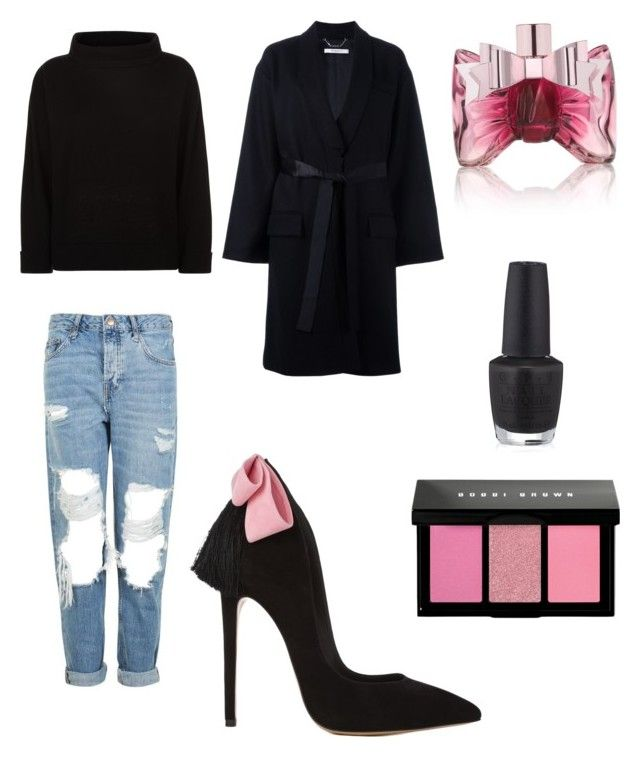 """""""Sweet"""" by al-gessica on Polyvore featuring mode, Topshop, Givenchy, Jaeger, Bobbi Brown Cosmetics, Viktor & Rolf et OPI"""
