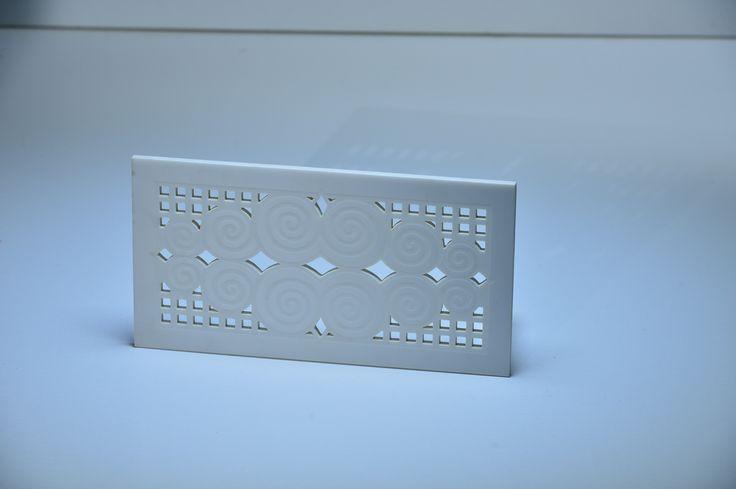 Решетка из искусственного камня для бассейна, лазерная резка, гравировка