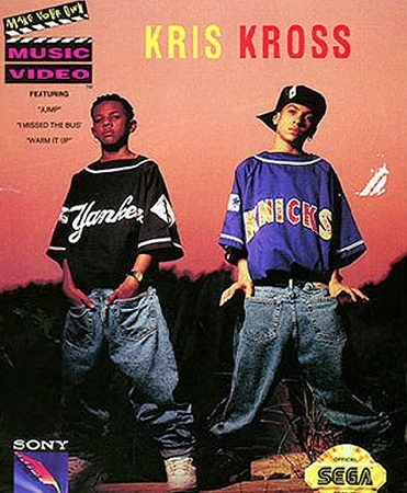 BACKWARDS PANTS -- Kriss Kross may have pioneered the art of wearing ones clothes backwards, but were not jumping to bring this trend back.