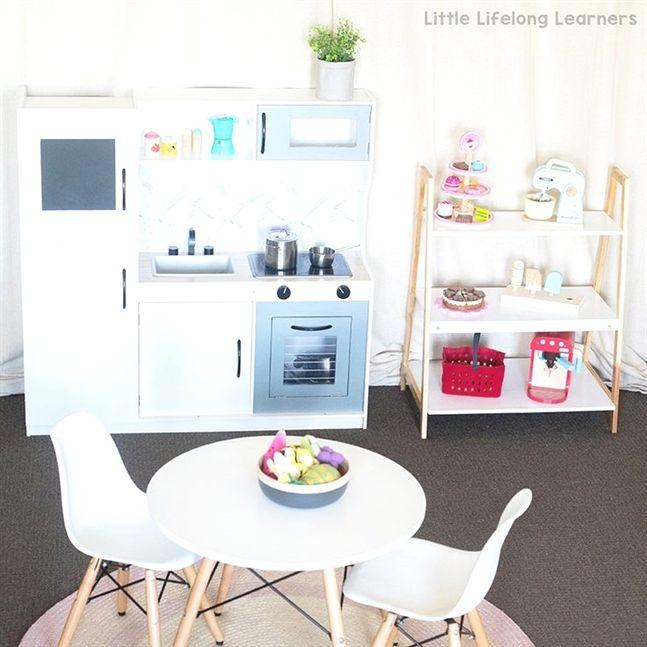 kmart kitchen hack for kids play kitchen pinterest kitchen rh pinterest com