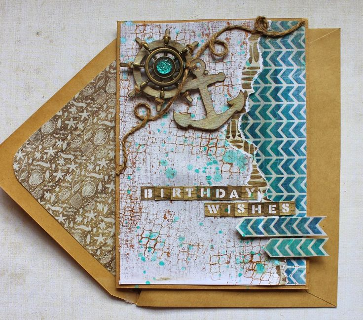 Kaisercraft Sandy Toes - Birthday Wishes Card