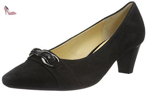 Gabor Shoes Gabor 51.270 Escarpins Femme, Gris, 38 EU