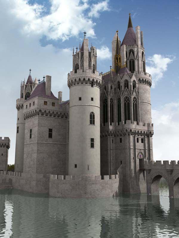 Château de Mehun-sur-Yèvre, XIIIe, XIVe siècle.