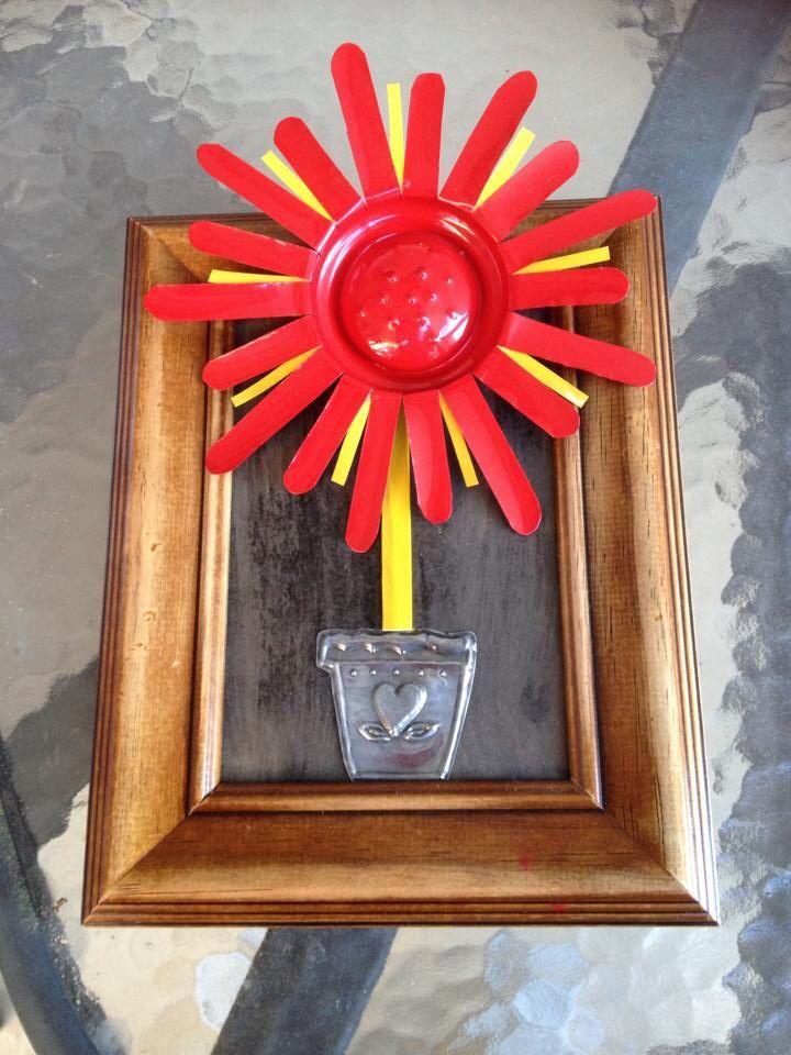 Soda can flower gift 2