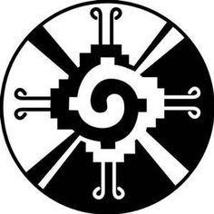 Le symbole maya du papillon galactique