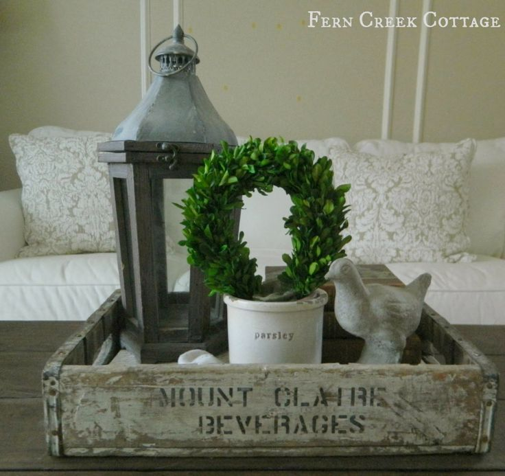 Fern Creek Cottage: Around my place: Winter decor