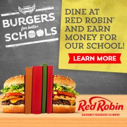 I have a loyalty card and didn't know I could be helping out our school!  Did you??  www.redrobin.com  Through April 15th, 15% of what you spend at Red Robin and your loyalty card goes to the school of your choosing