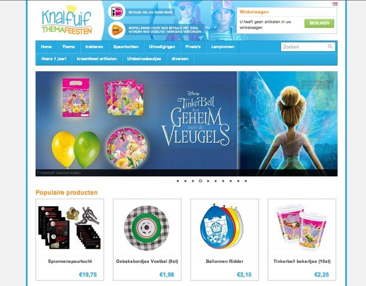http://www.knalfuif.nl is een webshop met een compleet aanbod voor kinderfeestartikelen! Met name door ons ruime aanbod in verschillende thema's is onze website voor ouders met kinderen tot ca. 10 jaar de moeite waard om eens een kijkje te nemen!