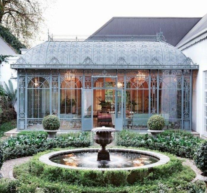 Meubles De Jardin De Luxe En 2020 Veranda Victorienne Meuble Jardin Veranda