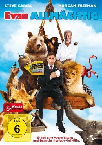 Evan Allmächtig * IMDb Rating: 5,4 (77.159) * 2007 USA * Darsteller: Steve Carell, Morgan Freeman, Lauren Graham,
