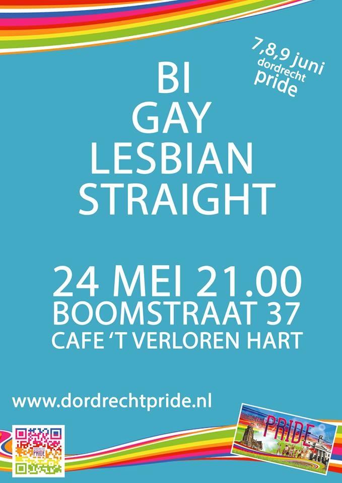 24 mei Pride Café