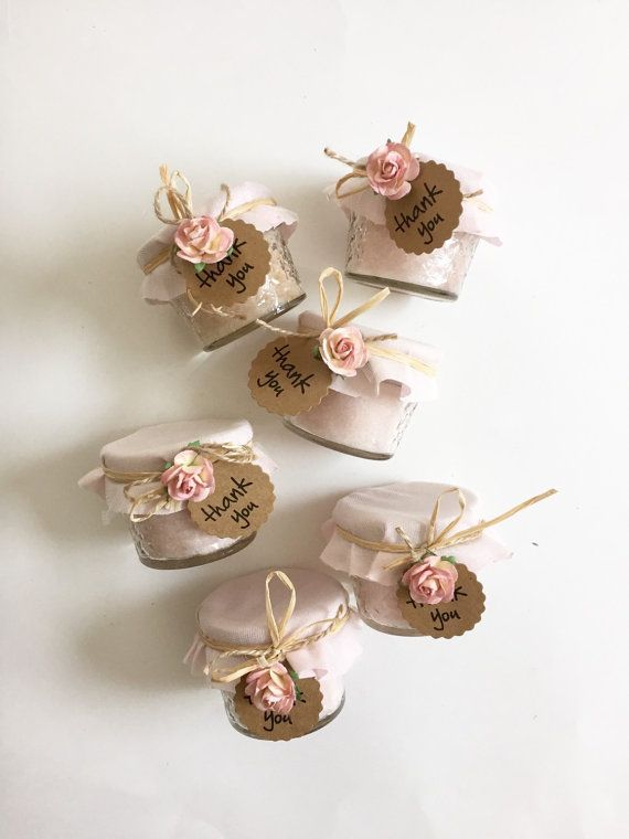 25 Rose Sugar Scrub Wedding Favors