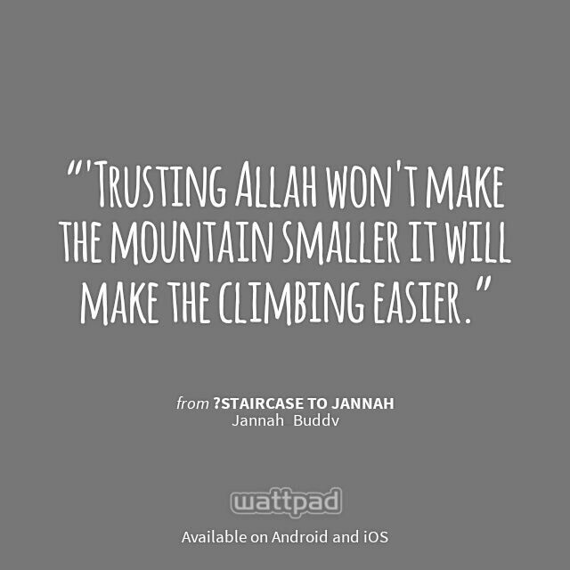 "I'm reading ""?Staircase to Jannah"" on #Wattpad.  #Quote"