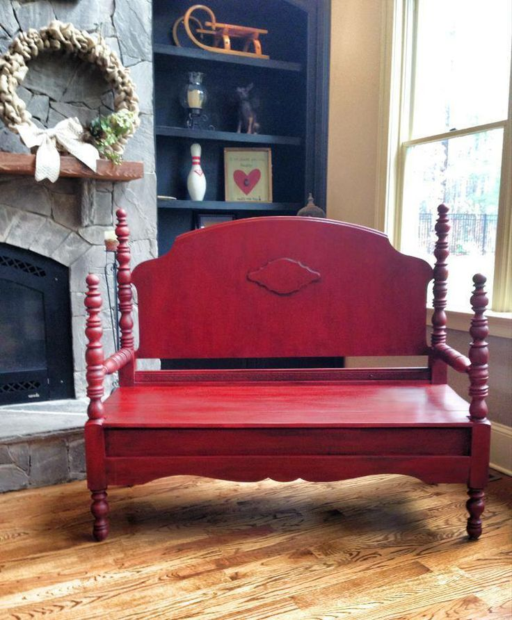 Antique Headboard Bench: 155 Best Repurposed: Headboards & Footboards Images On