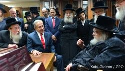 Netanyahu Asks Rabbis in Israel to Pray for Trump