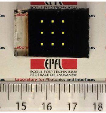 Eletrônica Alvorada : Células solares de perovskita, agora eficientes e ...