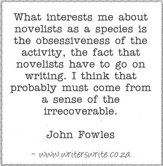 john fowles essay John fowles's the collector order description assignment: write a 700-800-word essay on one of the following topics, each of which asks you to analyze some aspect.