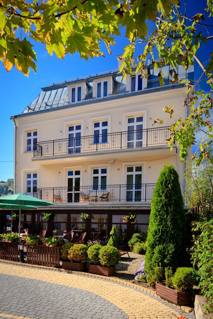 Villa Neve, Ustrzyki Dolne. Terrace, Villa Neve  [fot. Szymon Krężelok] #konferencjewgórach, #konferencjebieszczady, #conferencepoland