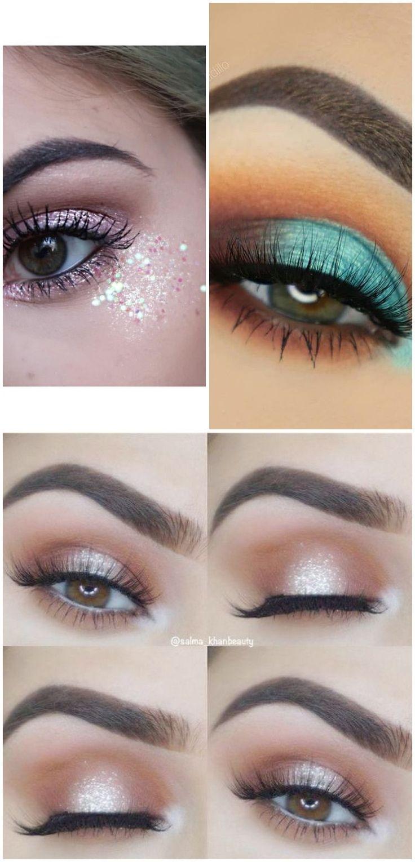 Brown Eye Glisten Makeup Natural REVOLUTION Makeup