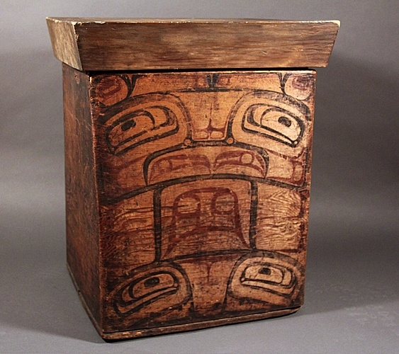 138 best images about PNW - Bentwood Boxes on Pinterest | British ...