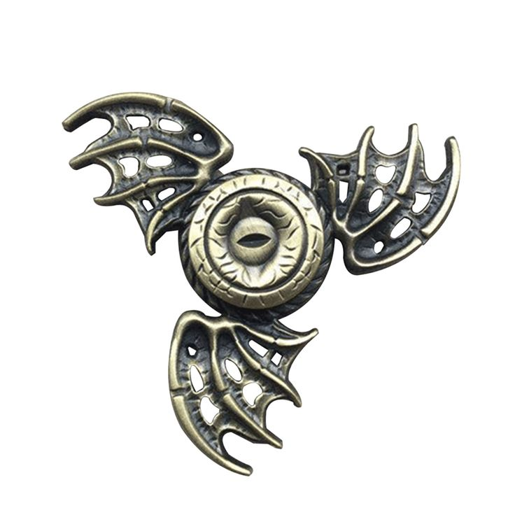 Mystic Eyes Bat Triangular Hand Fidget Spinner Game of Thrones Finger Spinner Cool EDC Toys Metal Profession Tri Spinner - Direwolf Shop Direwolf Shop