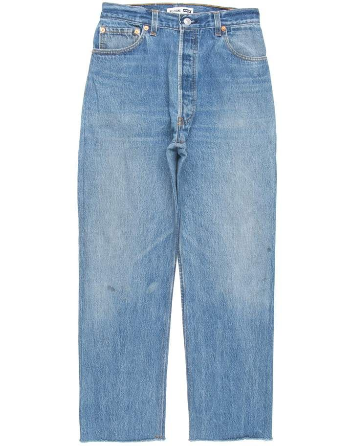 Shop Re Done Denim For Men And Women Online Re Done Jeans Are The Vintage Denim Of Your Dreams Worn Perfectly And Remade In Vintage Denim Fashion Modern Fit